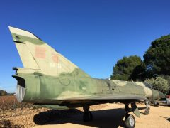 Dassault Mirage 5BA BA33 Belgian Air Force, Chateau de Bosc, Domazan France
