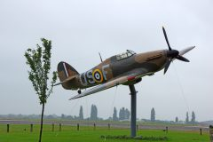 Hawker Hurricane replica V7813 US-F RAF, North Weald Airfield Museum