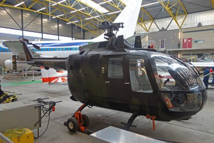 MBB Bolkow Bo.105M 80+56 German Army Flying, ROC van Amsterdam – MBO College Airport, Hoofddorp