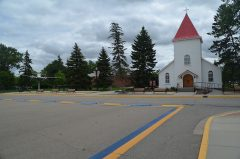 RCMP Depot Chapel in Regina, Sask