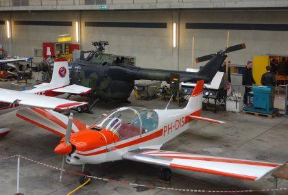 Robin HR.200/100 Club PH-DIS, ROC van Amsterdam – MBO College Airport, Hoofddorp