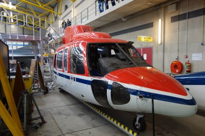 Sikorsky S.76B Spirit PH-NZV CHC Helicopters, ROC van Amsterdam – MBO College Airport, Hoofddorp