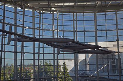 Rutan 76 Voyager (mock-up) Seattle Tacoma - International (SEA KSEA)