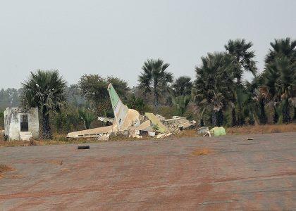 Boeing 737-201(A) C5-ZNA Slok Air International, Banjul International Airport, The Gambia