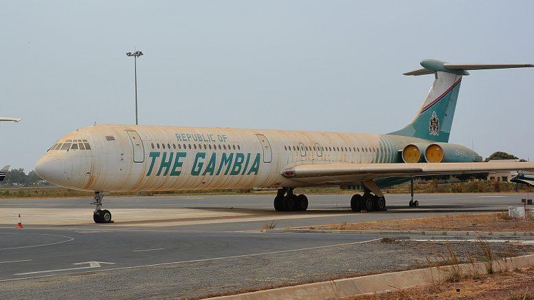 Ilyushin Il-62M C5-RTG Republic of the Gambia, Banjul International Airport, The Gambia