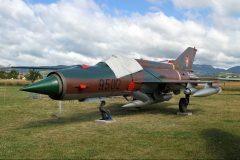 Mikoyan Gurevich MiG-21MF 9502 Slovakian Air Force, Aeroklub Dubnica Nad Váhom, Slavnica, Slovakia