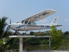 Cessna 150M HS-CMB, JEATH War Museum,  Kanchanaburi Thailand