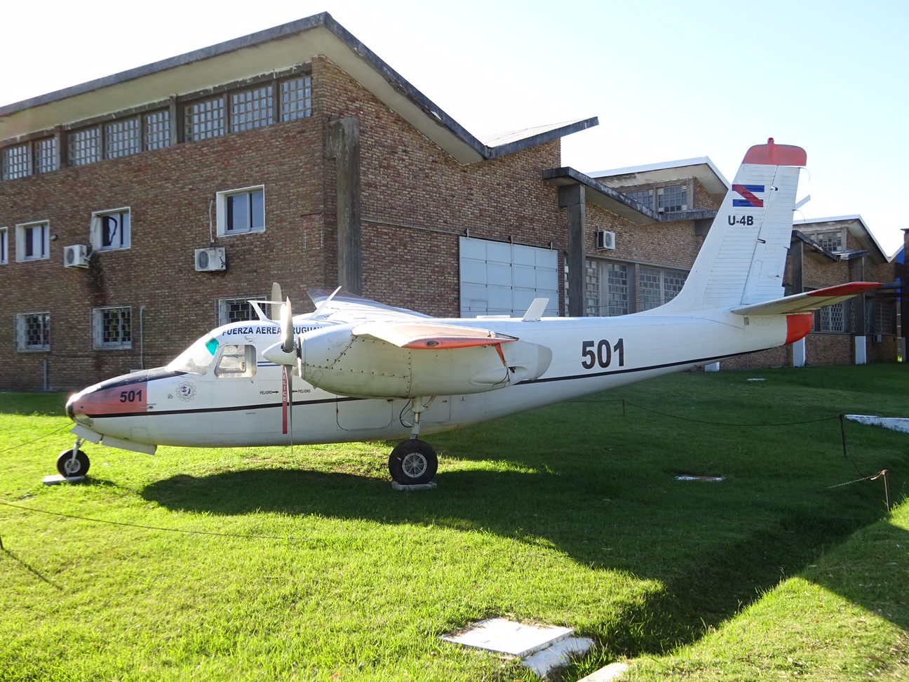 Museo Aeronáutico Montevideo, Uruguay - www aviationmuseum eu