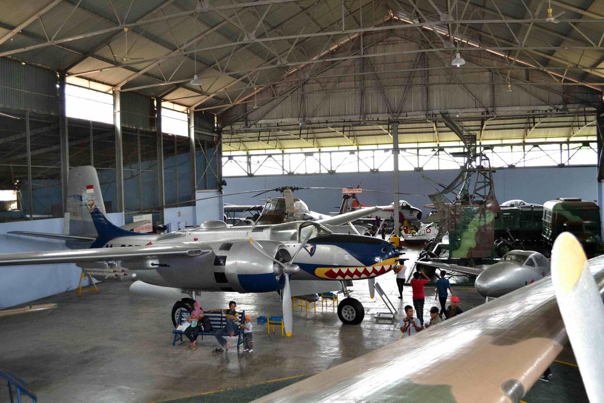 M 265 Douglas B 26b Invader Indonesian Air Force Museum