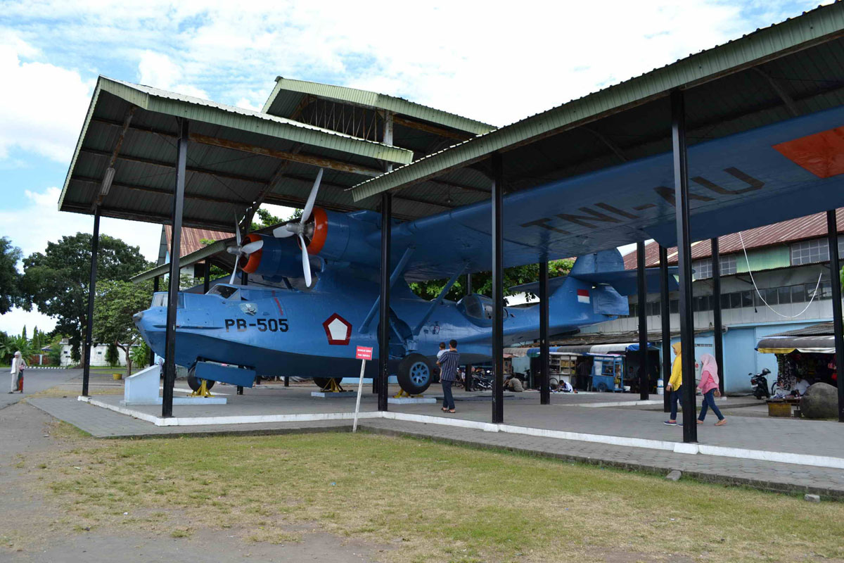 Pb 505 Consolidated Pby 5a Catalina Indonesian Air Force