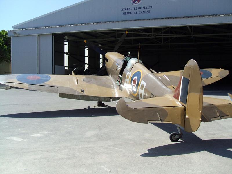 En199 Supermarine Spitfire Mk Ix Malta Air Museum