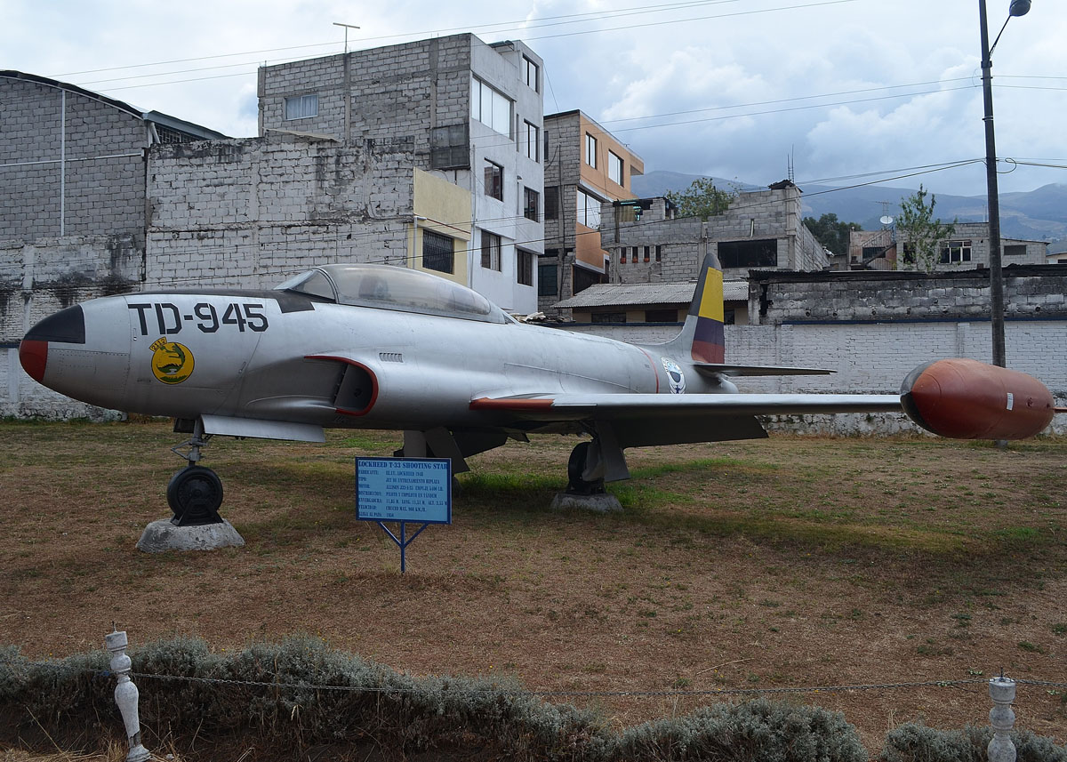 Td 945 Lockheed At 33a Museo Aeronautico