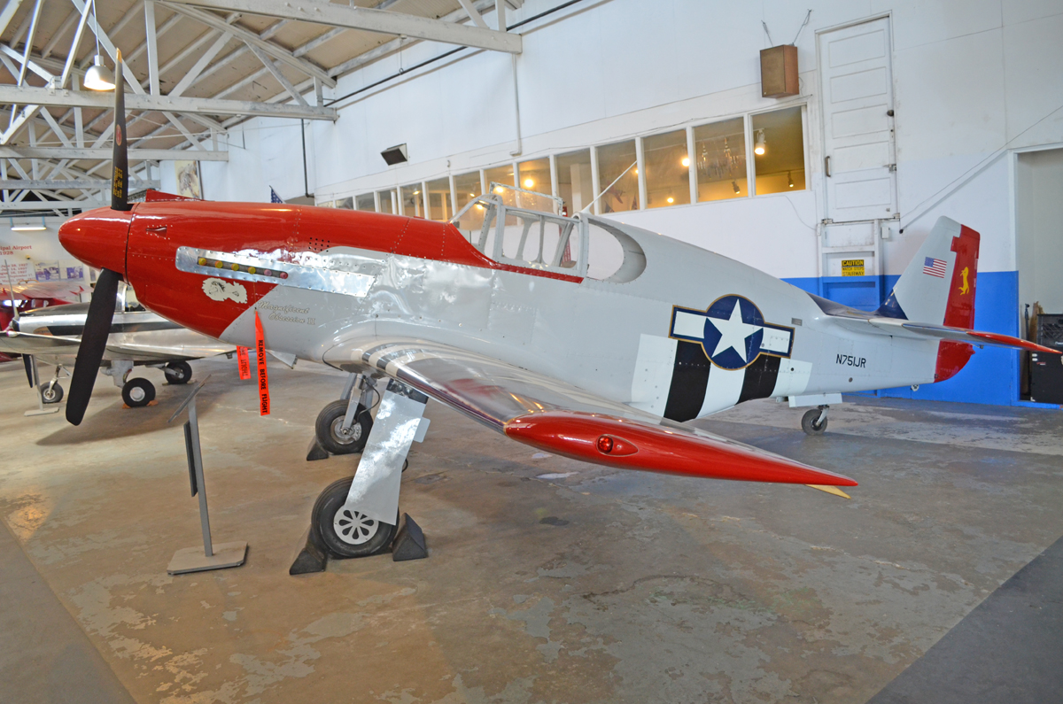 N751jr Jurca Mj 77 Mustang Oakland Aviation Museum